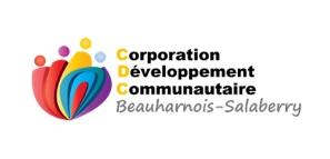 Logo de la Corporation de Développement Communautaire de Beauharnois-Salaberry, un partenaire du Pont du Suroît