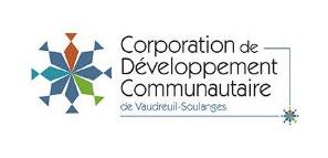 Logo de la Corporation de Développement Communautaire de Vaudreuil-Soulanges, un partenaire du Pont du Suroît