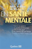 Page couverture du guide pratique sur les droits en santé mentale